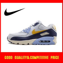 Original Authentic NIKE AIR MAX 90 Men's Running Shoes Sneakers Fashion Breathable Trend Comfortable Low-top 2019 New 537384-090(China)