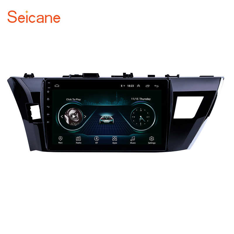 Seicane 10.1 Inch 2Din Android 8.1 GPS Navi Stereo For Toyota Corolla 2013 2014 2015 Car Radio Multimedia Player Head Unit Wifi