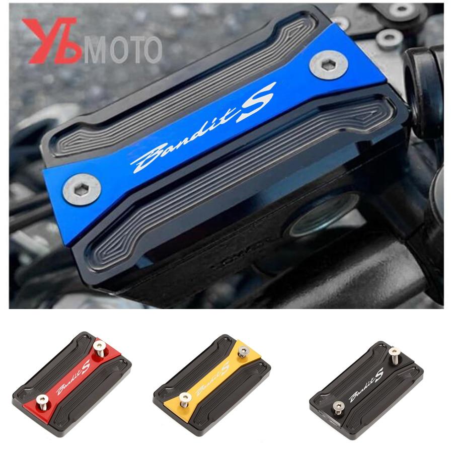 Крышка мотоциклетного резервуара для жидкости Передняя зернистая крышка подходит для SUZUKI BANDIT S 650 S650 1250/1250S