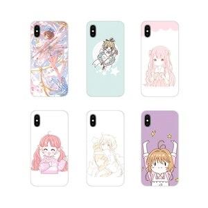 Аниме Cardcaptor Sakura Art Clea силиконовый чехол для телефона Xiaomi Redmi Note 3 4 5 6 7 8 Pro Mi Max Mix 2 3 2S Pocophone F1