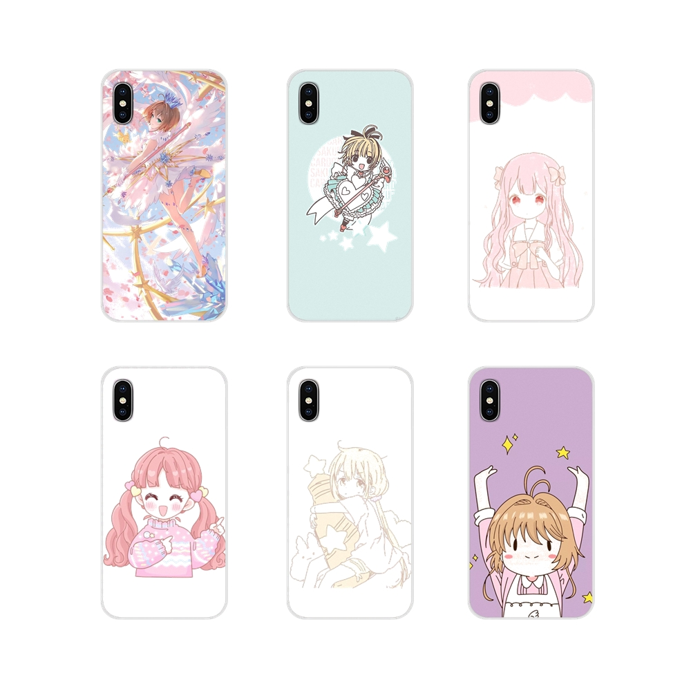 <font><b>Anime</b></font> Cardcaptor Sakura Art Clea Silicone Phone <font><b>Case</b></font> Covers For <font><b>Xiaomi</b></font> Redmi Note 3 4 5 6 7 8 Pro <font><b>Mi</b></font> Max <font><b>Mix</b></font> <font><b>2</b></font> 3 2S Pocophone F1 image