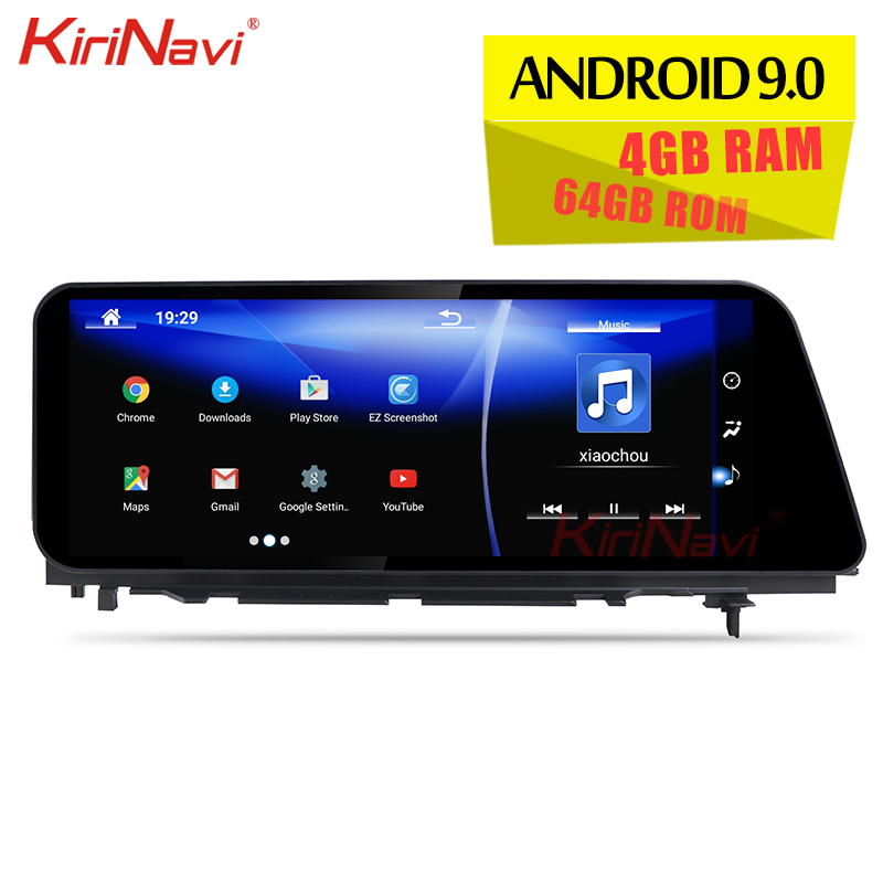 KiriNavi 12.3 1 Din Android 9.0 Car Radio For Lexus RX RX200 RX350 RX450 Auto GPS Navigation Stereo Car DVD Multimedia Player image