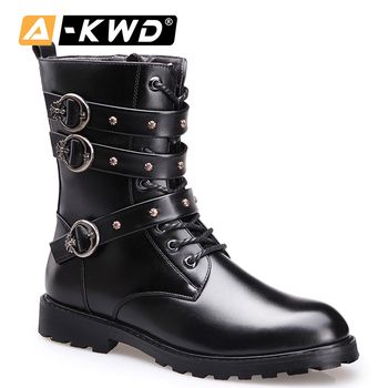 Fashion Warm Shoes Men High Top Winter Sneakers Chaussures Homme Hiver Men Boots Ankle Boots Men Army Shoes Hip Hop Shoes 37-44