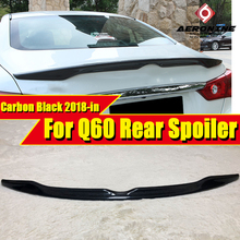 Fits For Infiniti Q60 Tail Rear Spoiler Trunk wing Nissan style Carbon Q60S 18+