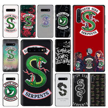 Riverdale South Side Slangen Snake Soft Case Voor Samsung Galaxy S8 S9 S10 Plus Note 8 9 10 Plus S10e s10 5G S7 Edge TPU Cover C(China)