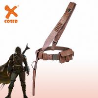 Xcoser Cosplay Belt For The Mandalorian Belt With Accessories Halloween Cosplay Party Props Full Set Belt For Man High Quality