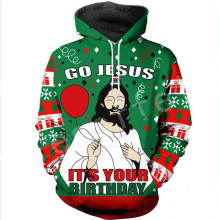 Tessffel Santa Claus Christmas MenWomen HipHop 3Dfull Printed Sweatshirts/Hoodie/shirts/Jacket Casual fit colorful funny Style12