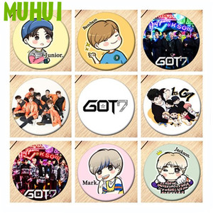 Free Shipping Kpop GOT7 JB MARK Brooch Pin Girls Badges For Clothes Backpack Decoration Jewelry B189(China)