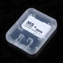 Memory-Card-Adapter Micro-Sd Flash-Card White MS Pro Duo To TF for Dual 2-Slot