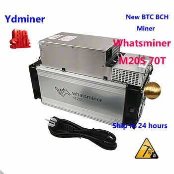 Neue BTC BCH ASIC miner whatsminer m20s 70T SHA-256 bergbau besser als M3X antminer s9j T9 + S11 S15 t17 S17 INNOSILICON T3 T2T