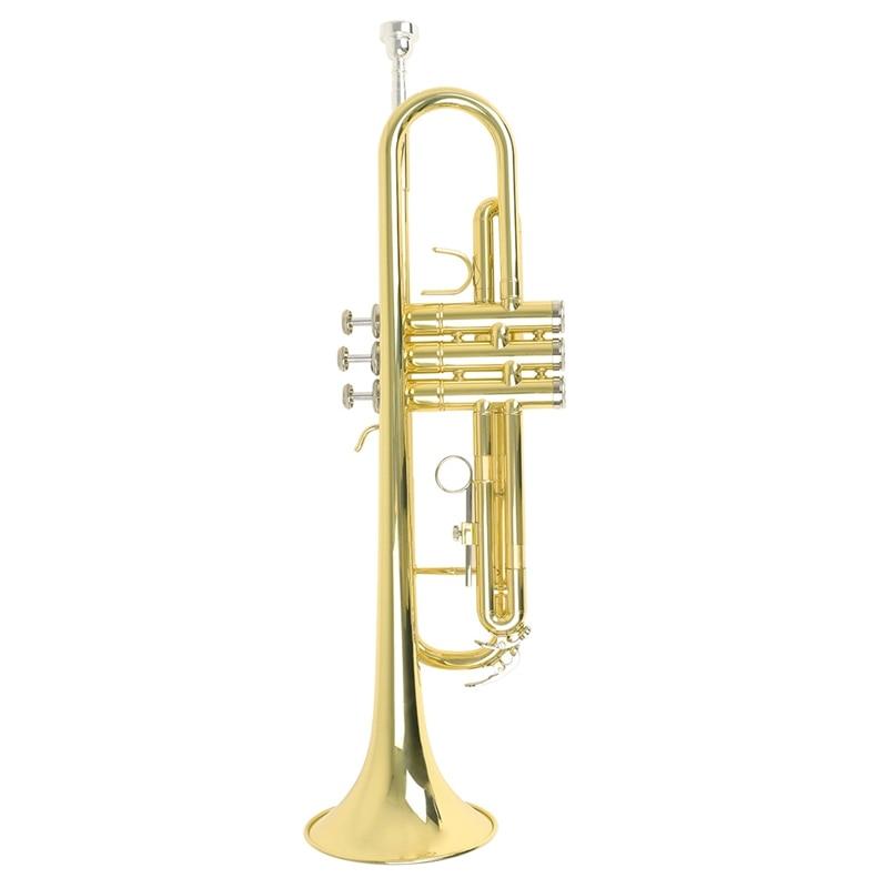 Nouvelle vente trompette de qualité supérieure Bb B plat en laiton Durable trompette avec un embout