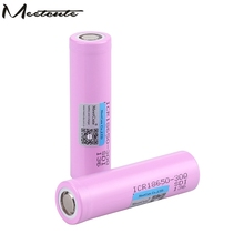 Meetcute 18650 battery INR 3.7V 3000mAh INR18650 30Q li-ion Rechargeable Batteries for laptop flashlight e-cig