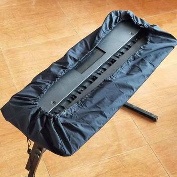 Pianino 61 kluczowe pianino elektroniczne osłona klawiatury pyłoszczelna torba do przechowywania klawiatura ochrona przed kurzem tanie i dobre opinie piano cover