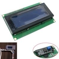 Série azul iic i2c twi 2004 20x4 caracteres 5v módulo lcd display para arduino|Multímetros| |  -