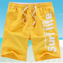 LJ415 Merk 2018 Casual Mannen Shorts Brief afdrukken Mannen Sneldrogend Polyester Boardshorts 9 kleuren