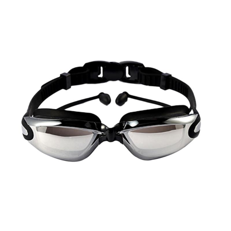 Swimming Goggles Professional Adjustable Waterproof Anti-Fog Uv Swim Eyeglass