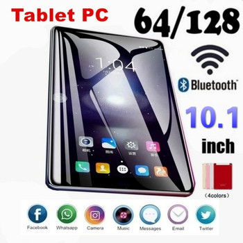 2021 NEW Android Smart 10 Inch 6G+128GB WiFi Tablet PC Dual SIM Dual Camera Rear Bluetooth 4G Call Phone Tablet 1280 X 800