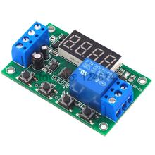 DC 5V/12V/24V 5A YYC-2S Adjustable LED Delay Relay Module De