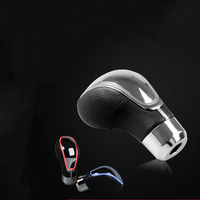 Universal Car Gear Shift Knob Changeable Multi Color LED Light Touch Activated Sensor Shifter Gear Knob Stick