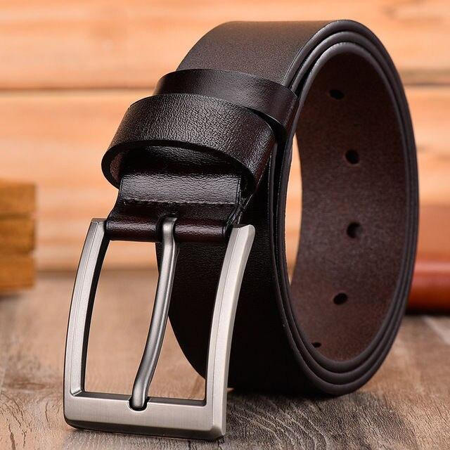 Men High Quality Leather Belt Luxury Designer Belts Men Cowskin Fashion For Men