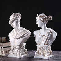 Ancient Greek Mythology Character Apollo Anna Statue Handicraft Christmas For Home Sculpture Escultura Home Decor Accessories