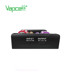 Image 4 - Vapcell New upgrade version S4 plus fast charger 3A 4 slot total 12a discharger/capacity test/repiar for 21700 18650 battery