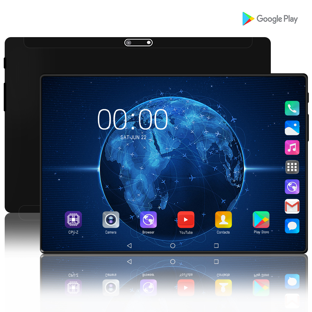 Newest 10 Inch Tablet PC Quad Core 2GB RAM 32GB ROM Android 7.0 3G 4G LTE Phone Call Wifi Gps FM Tablette Tab Tablets 10.1 9