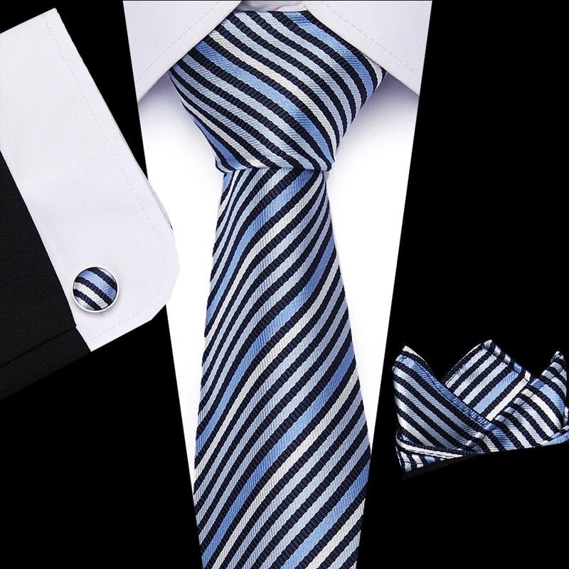 40 Styles Men's Ties Stripe Flower Floral 8 Cm 100% Silk Jacquard Necktie Accessories Daily Wear Wedding Party  L10003