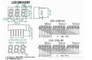 Image 5 - 8pcs 7 מגזר LED תצוגה 0.36 אינץ 1 / 2 / 3/ 4 קצת 2pcs כל נפוץ קתודה/האנודה צינור דיגיטלי 7 מגזר LED תצוגה
