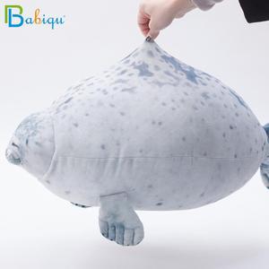 Image 5 - Soft 20 80cm Soft Sea Lion Plush Toys Sea World Animal Seal Baby Sleeping Pillow Plush Stuffed Doll Kids Girls Birthday Gifts
