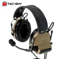 Precio https://ae01.alicdn.com/kf/H037177d6f2d14ca5964c89c2d367b66e0/TAC SKY COMTAC II orejeras DE silicona versión para caza al aire libre deportes DE audición.jpg