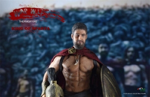 Image 5 - BY ART BY G01 300 Warriors King of SPARTA with 2 Heads 1/12 Action FIGURE