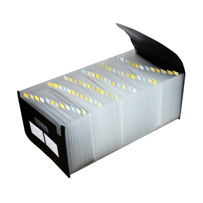 13/24/36/48/60/72 Pocket Classified File Folder Telescopic Standing A4 Organizer