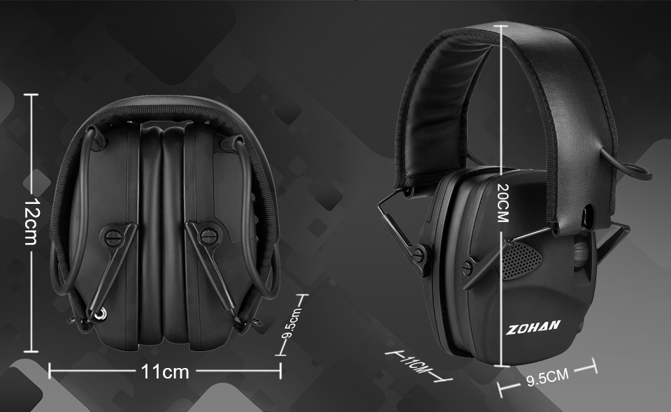 H0371980de3024fbea66956b173ca0db9c - หูฟังลดเสียง ป้องกันหู ที่ปิดหู ลดเสียงดังที่ได้ยิน ลดการได้ยินเสียง NRR22dB Professional