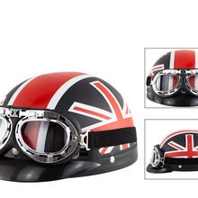 HiMISS Unisex Cute Motorcycle Helmet Bike Riding Protective Strong Safety Half-f