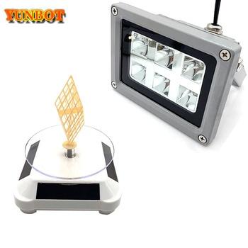 цена на High Quality 110-260V 405nm UV LED Resin Curing Light Lamp for SLA DLP 3D Printer Photosensitive Accessories Hot sale