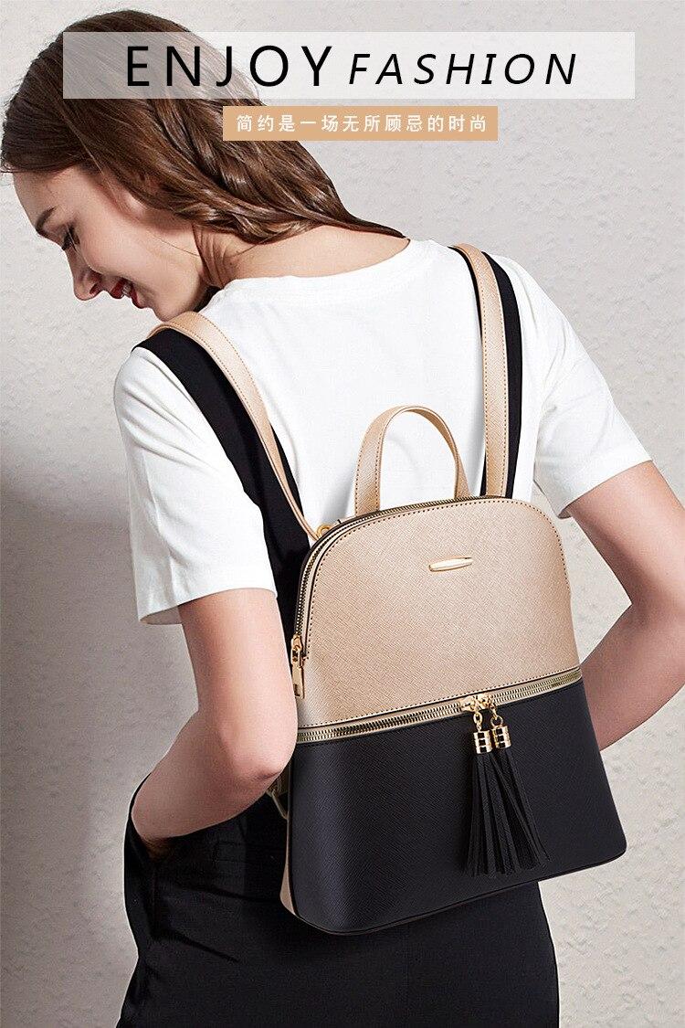 mulher bolsas moda sacos mochilas para mulheres único ombro