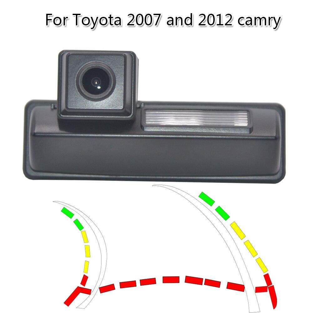 Интеллектуальная динамическая дорожка ночного видения Hd цветная Автомобильная камера заднего вида Водонепроницаемая камера ночного виде...