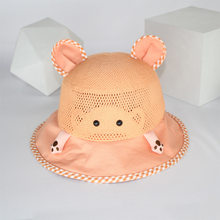 baby straw hat Spring and summer, thin children fisherman shading infants cute private sun hat newborn accessories nacido czapka