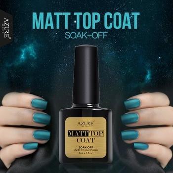 Azure Beauty Nail Gel Polish New Arrival Matt Matte Top Coat Long-lasting Nail Gel Soak off Gel Polish Nail UV Gel Lacquer