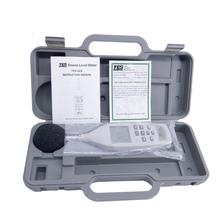 TES-52A cyfrowy miernik poziomu dźwięku 26dB to130dB poziom hałasu miernik testowy tanie tanio ARTBULL