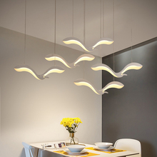 Creativity Modern Led Pendant Chandelier Lights For Diningroom Kitchen front desk suspension luminaire suspendu led Chandelier