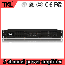 TKL L20 professional 2 channles power DJ amplifier 2 * 450 Watt 8ohm KTV party power amplifier