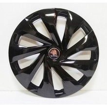 Skoda to 15 inches Piano Black Emblem Wheel Cover Set of 4 +