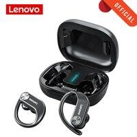 Lenovo LP7 TWS auricolare senza fili cuffie Bluetooth Sport cuffie impermeabili doppio basso Stereo con microfono Display a LED Standby lungo