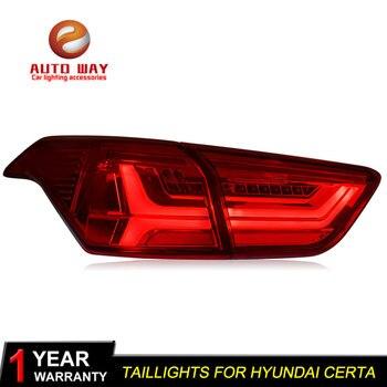 Car Styling for Hyundai Creta IX25 2016 Certa taillights TAIL Lights LED Creta Taillight LED Rear Lamp Certa taillight
