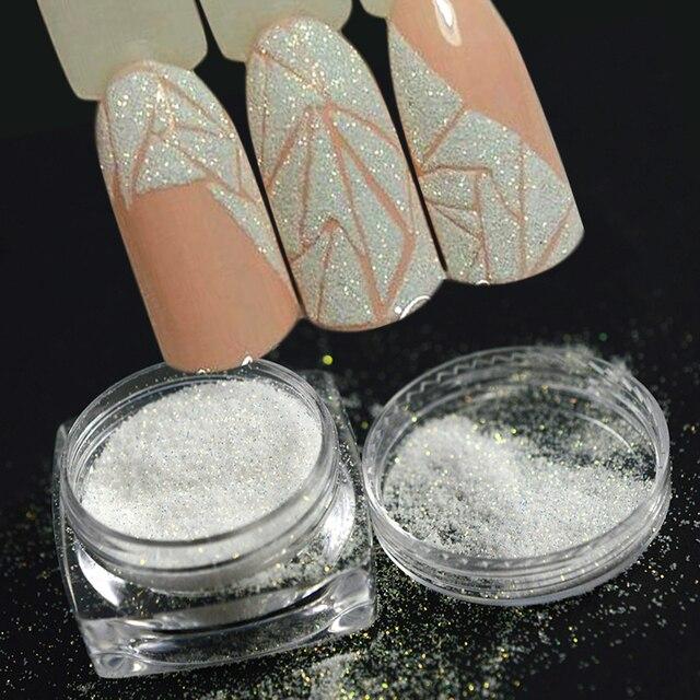 新ファッション 1 ボトルシャイニン砂糖コーティング効果粉末diyの装飾ダストネイルアートマニキュアツールBETY01 05