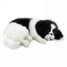 Fancytrader реалистичные животные плюшевая пятнистая игрушка для собак, набитая имитацией золотого ретривера, украшение для собак, подарок 35x25x14 см