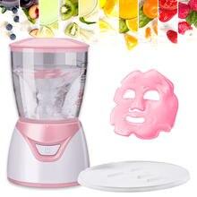 2021 BRICOLAGE Masque Machine Automatique Fruits Légumes Naturel Collagène Masques Faciaux Mini Fabricant de Machine de Masque De Visage SPA Soins de La Peau