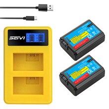 2 قطعة 2000mAh NP FW50 NP FW50 كاميرا بطارية + LCD USB المزدوج شاحن لسوني ألفا a6500 a6300 a6000 a5000 a3000 NEX 3 a7R